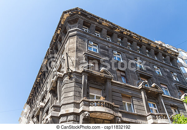 view of landmarks in Budapest - csp11832192