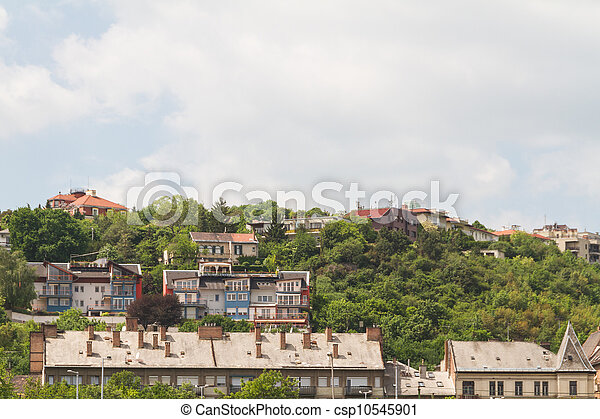 view of landmarks in Budapest - csp10545901