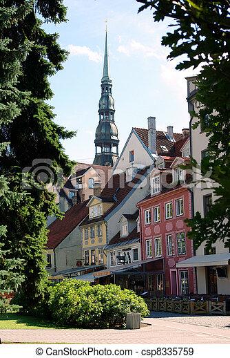 View Of Old Riga, Latvia - csp8335759