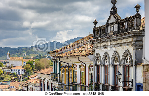 View of Ouro Preto - csp38481848