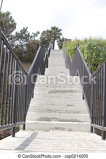 view of stairs - csp0214205