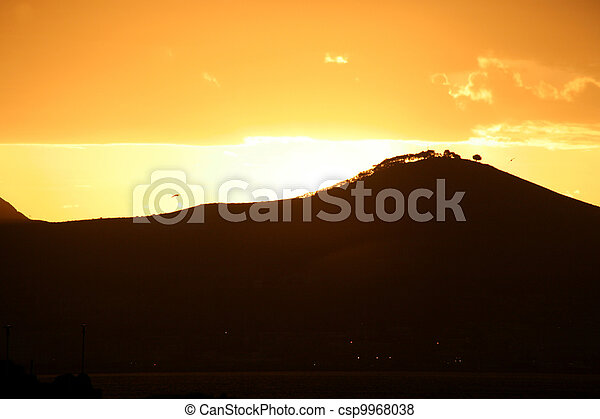 View of table Mountain - csp9968038