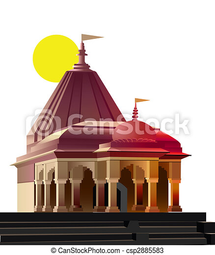view of temple place of worship religion drawings search clipart rh canstockphoto com temple clipart temple clipart