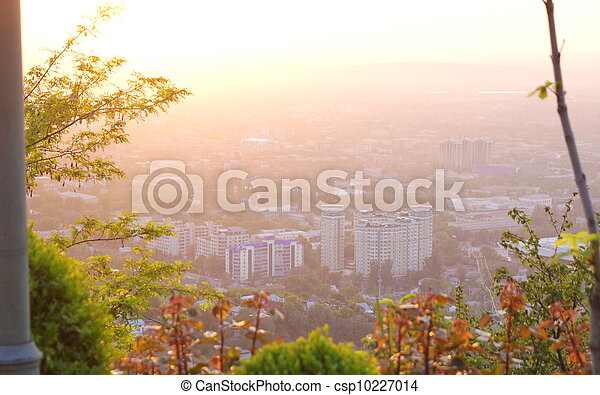 View of the city - csp10227014