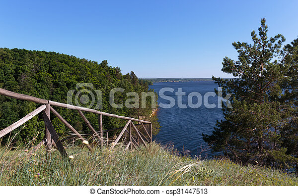 view of the river bay - csp31447513