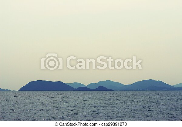 View of the sea - csp29391270