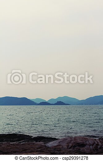 View of the sea - csp29391278
