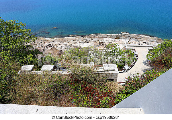 view of the sea - csp19586281