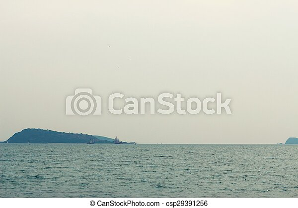 View of the sea - csp29391256