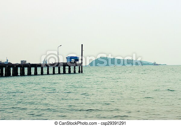 View of the sea - csp29391291