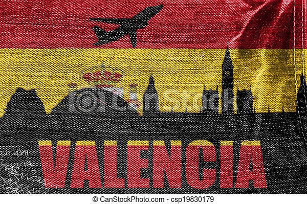 View of Valencia - csp19830179