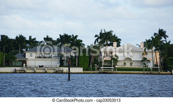 View of West Palm Beach in Florida - csp33053013