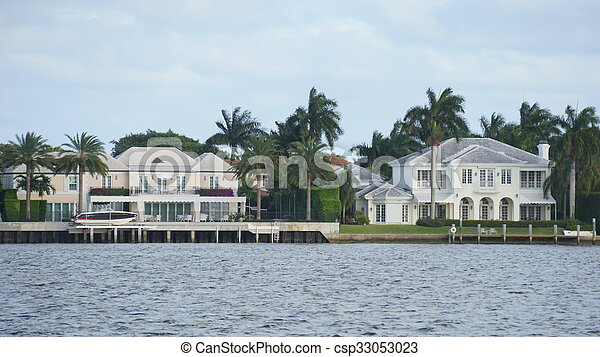 View of West Palm Beach in Florida - csp33053023