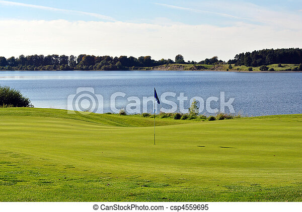view on a golf course - csp4559695