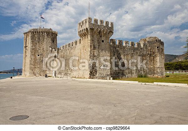 View on Kamerlengo castle - Trogir - csp9829664