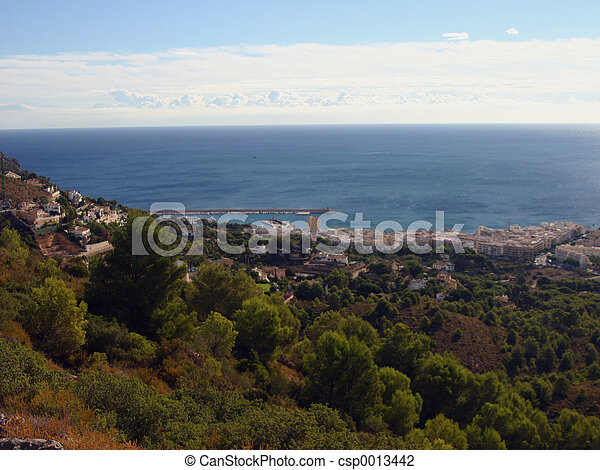 view out to sea - csp0013442