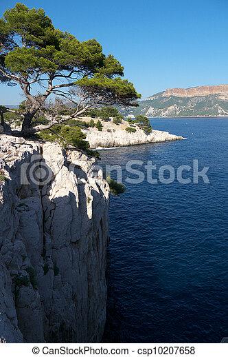 view over mediterranean sea - csp10207658