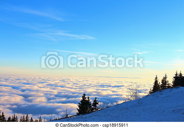View Over The Clouds - csp18915911