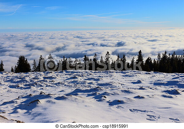View Over The Clouds - csp18915991