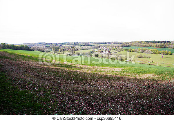 View over the countryside in the Chilterns - csp36695416