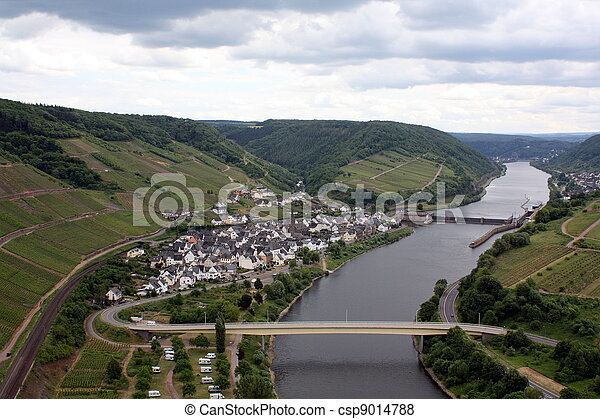 View to the Moselle - csp9014788