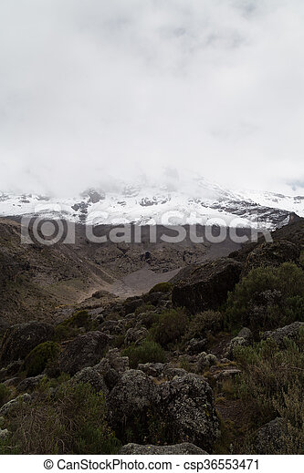 View to the summit - csp36553471