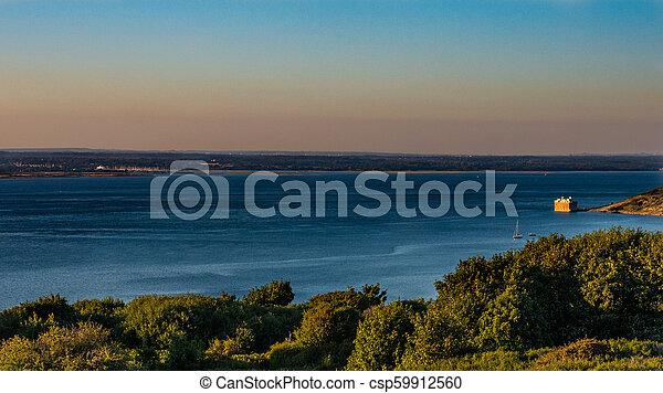 View towards Lymington - csp59912560
