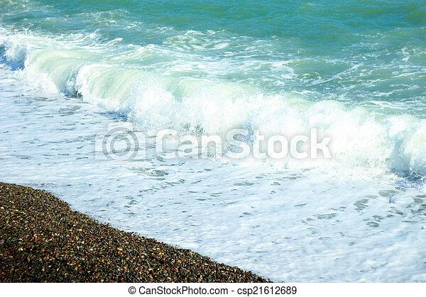 views of the Black Sea - csp21612689