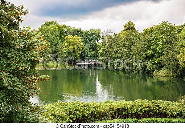 Vigeland park in Oslo - csp54154918