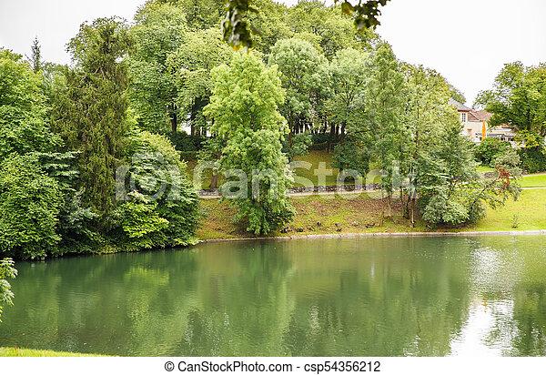 Vigeland park in Oslo - csp54356212