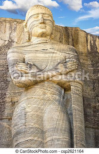 Gal vihara, polonnaruwa, sri lanka - csp2621164