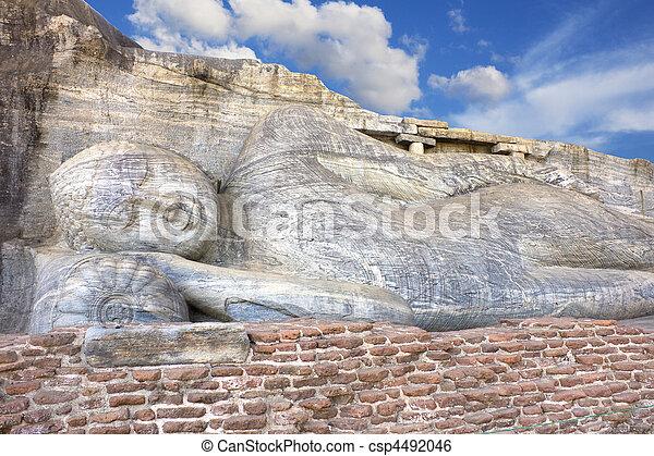 Gal vihara, polonnaruwa, sri lanka - csp4492046