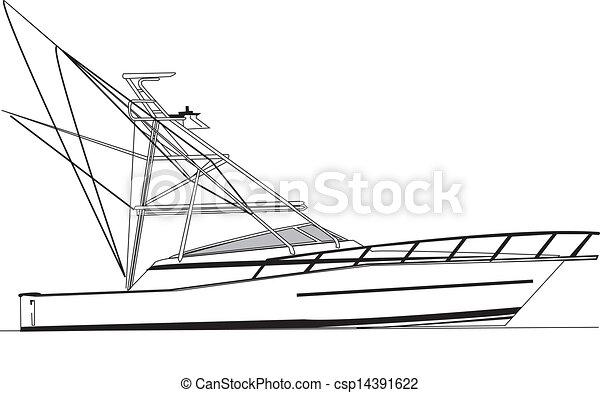 viking, 43', sport halfajták, csónakázik - csp14391622