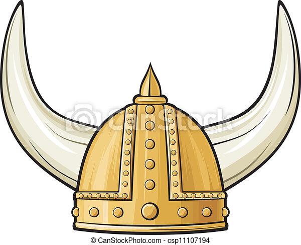 Viking Helmet - csp11107194