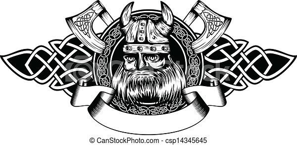 viking in frame - csp14345645