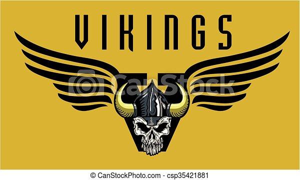 Vikingos - csp35421881