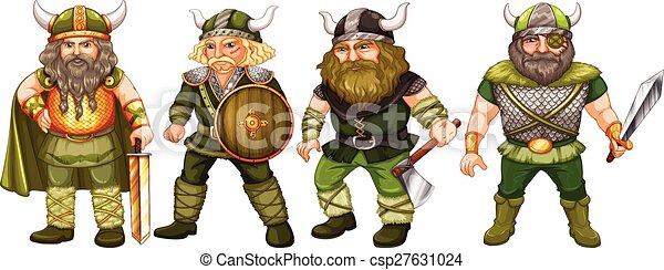 Vikingos - csp27631024