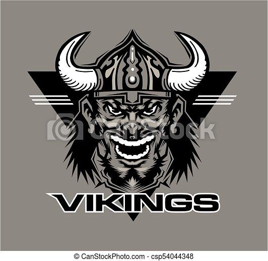 La mascota de los vikingos - csp54044348