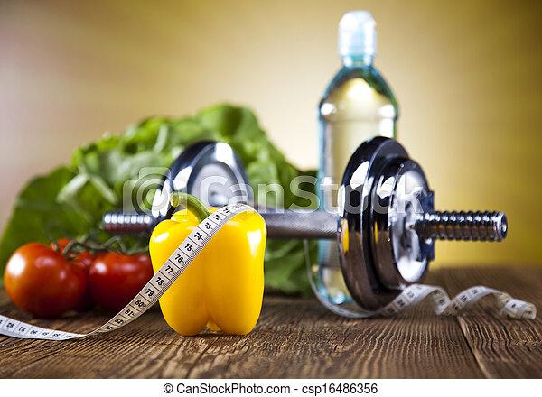 viktförlust, fitness - csp16486356