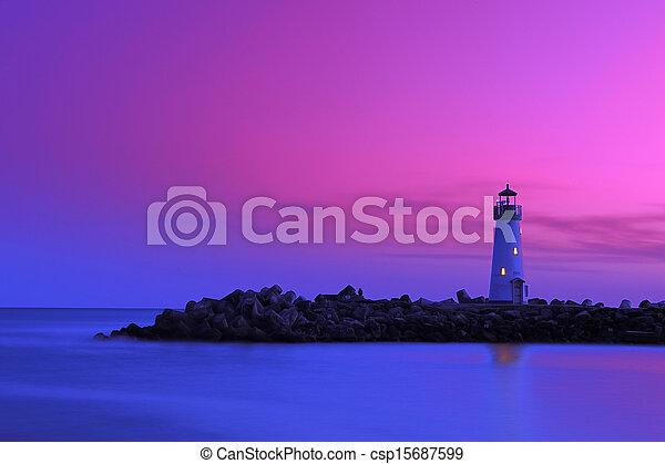 világítótorony - csp15687599