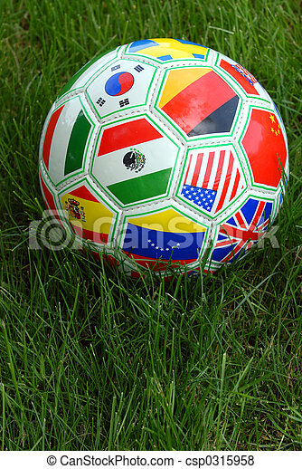 világ, focilabda, csésze - csp0315958