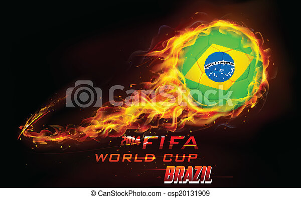 világ, labdarúgás, háttér, csésze - csp20131909