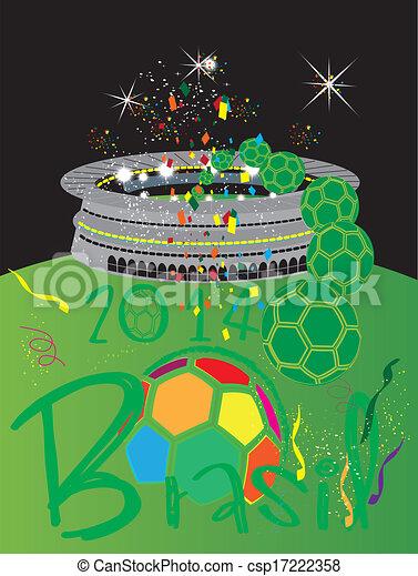 világ, stadion, csésze - csp17222358