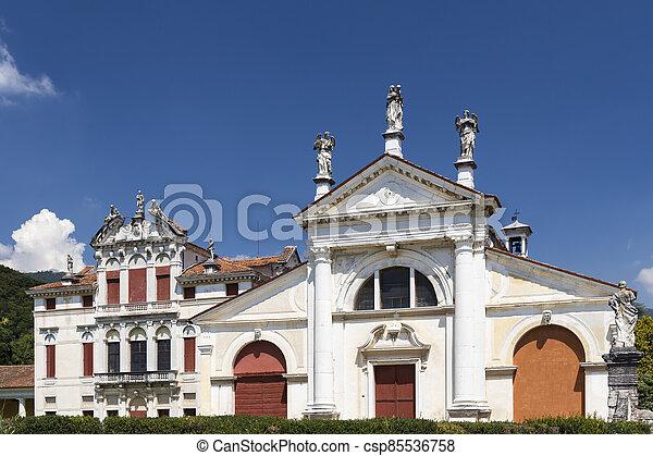 Villa Angarano in Bassano del Grappa, Veneto, Northern Italy. - csp85536758