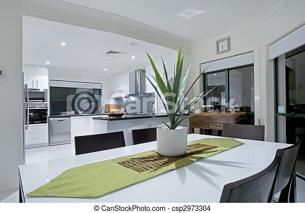 villa modern luxus kueche. Black Bedroom Furniture Sets. Home Design Ideas