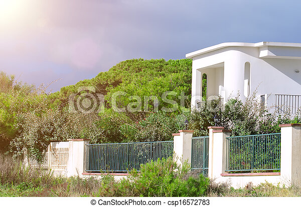 Villa Weisser Zaun