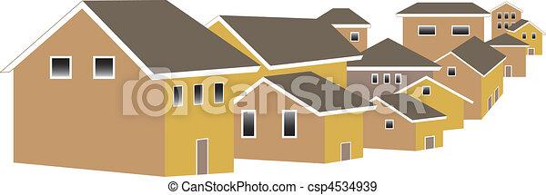 village - csp4534939
