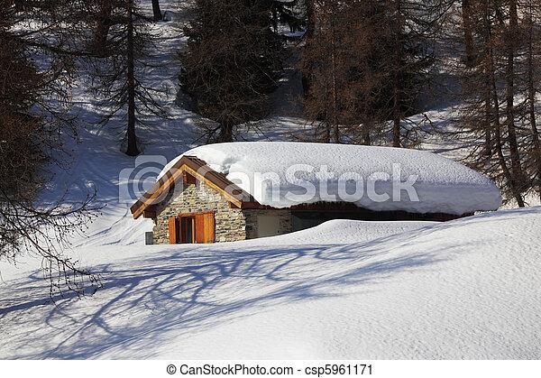 village house - csp5961171