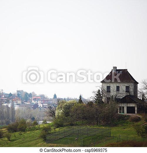 village house - csp5969375