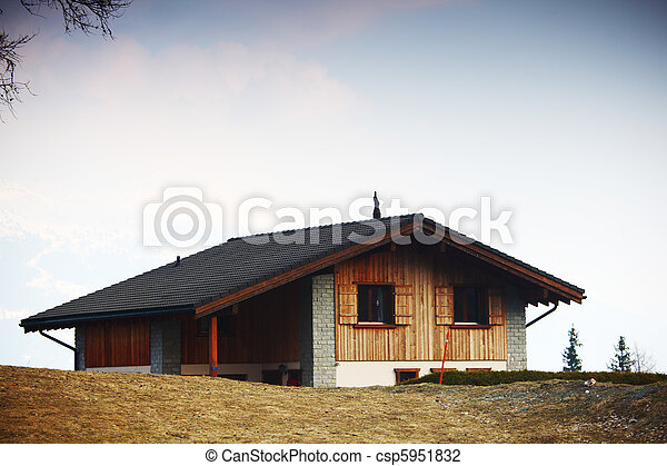 village house - csp5951832